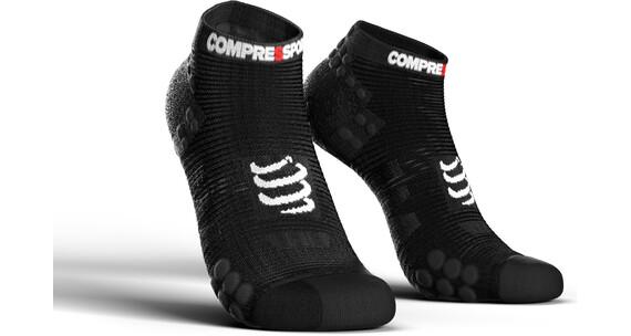 Compressport Pro Racing V3.0 Run Low Hardloopsokken zwart